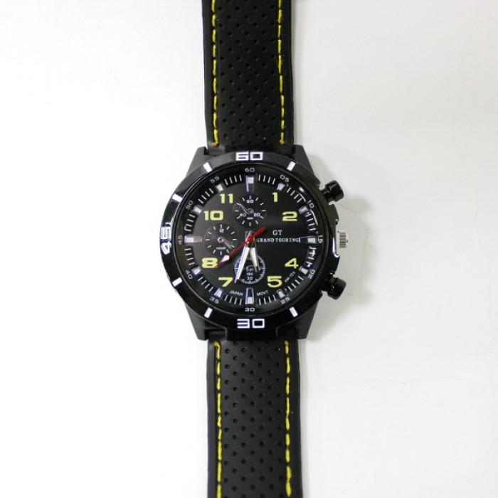 Часы мужские наручные Sanda GT желтые