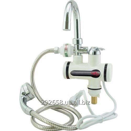 Купить Проточный водонагреватель электрический на кран LCD бойлер с душем