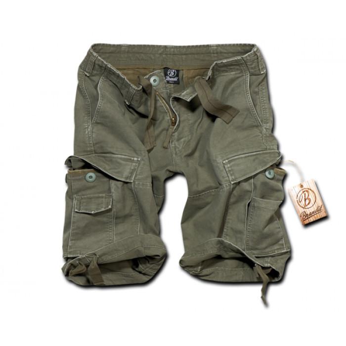 Comprar Los shorts Brandit Vintage el olivo BR-2002-1
