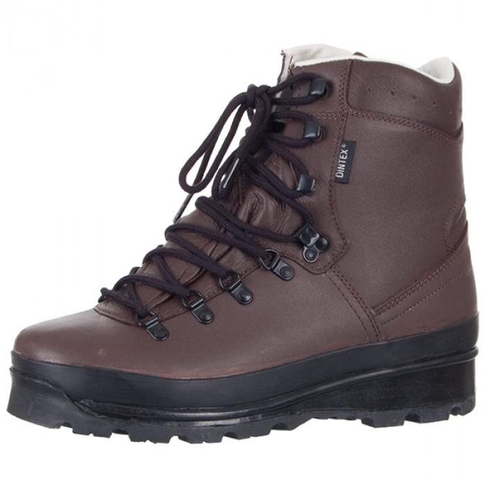Comprar Los zapatos LOWA la Perpetua de las nieves DINTEX castaños oscuros 12801100