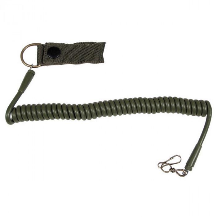 Витой шнур страховки пистолета MFH олива