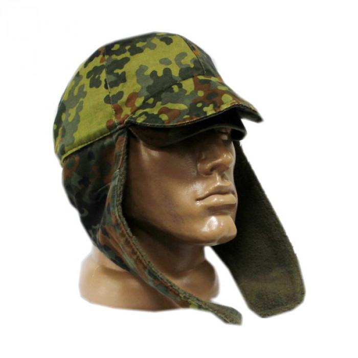 Buy Cap with ear-flaps of NATO BUNDESWEHR flektarn second-hand 10001452