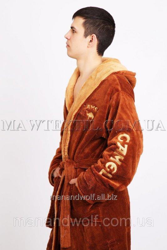 Купить Мужской халат махровый Сamel