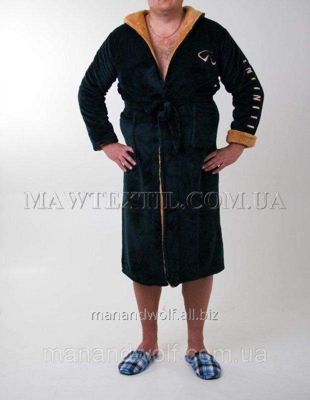 Men s dressing gown terry green Infiniti buy in Kharkov b7ea1bf79