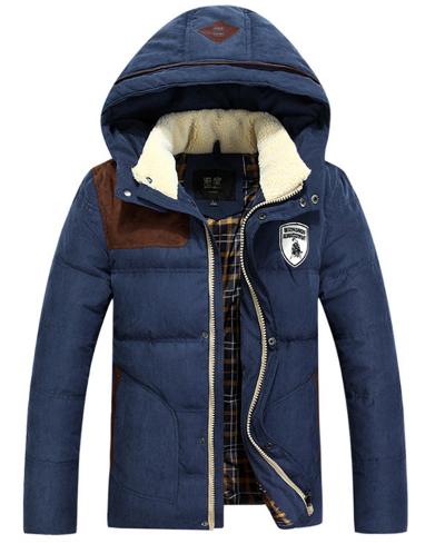 70de423da7495 Зимняя мужская куртка с капюшоном, модель 6136 купить в Днепр