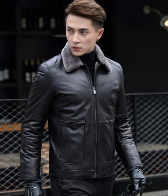 be87def94f8 Мужская зимняя кожаная куртка