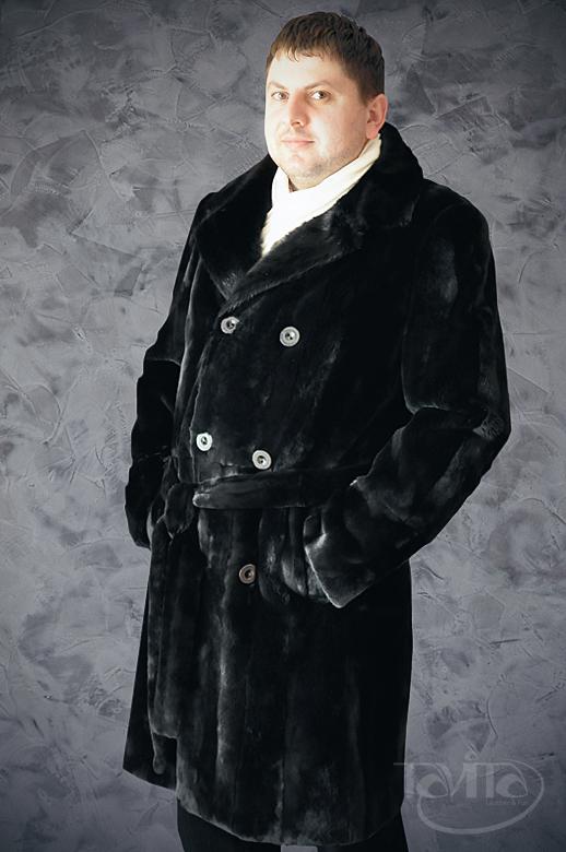 Чоловіча шуба зі стриженої норки. Купити шубу a8f2239b99213