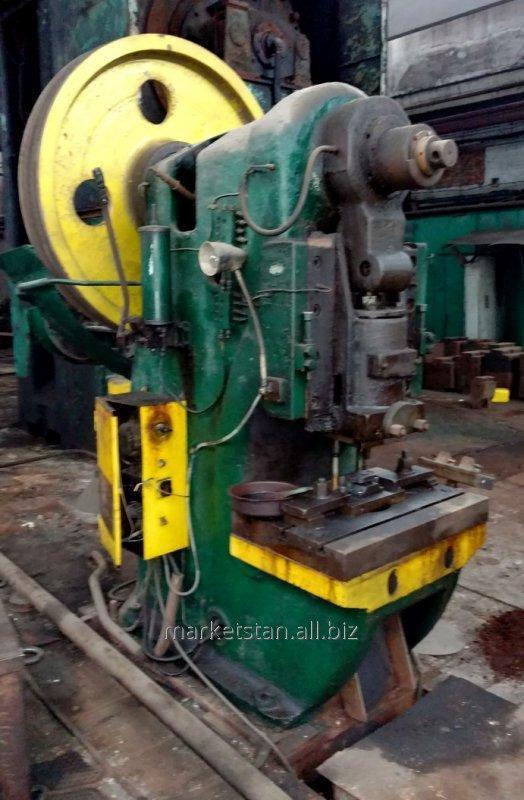К117Е Пресс кривошипный одностоечный усилием 100 т