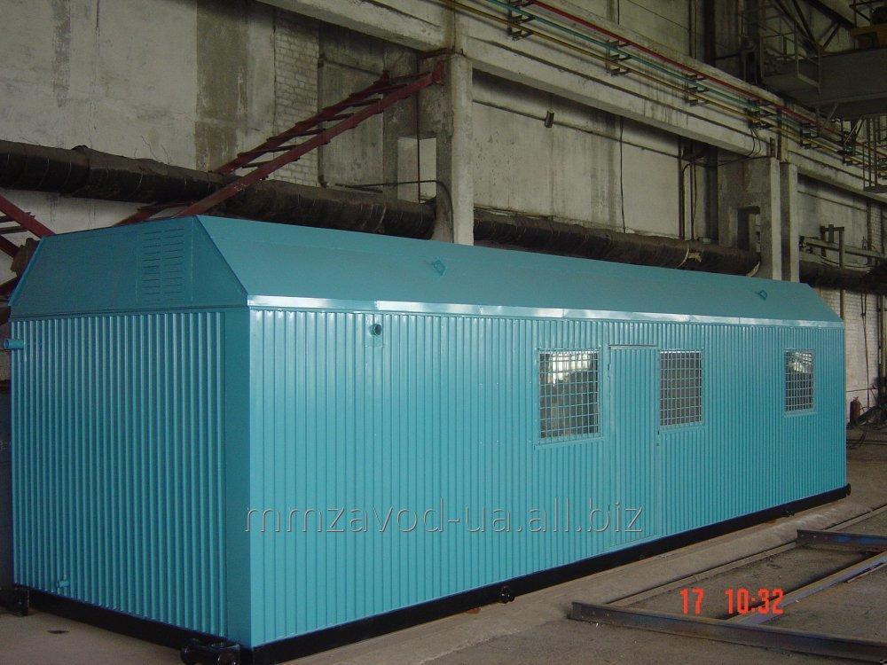 Транспортабельная котельная установка ТКУ-0,7 М (мазут, жидкое топливо, дизель, полная комплектация, пар, пар-вода)