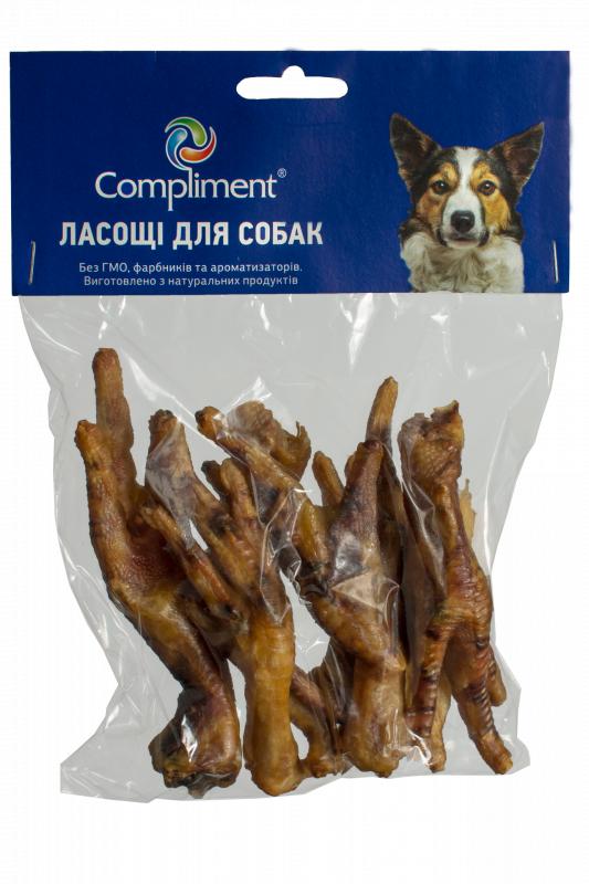 Лапа куриная сушеная  7 шт. ( 209028)