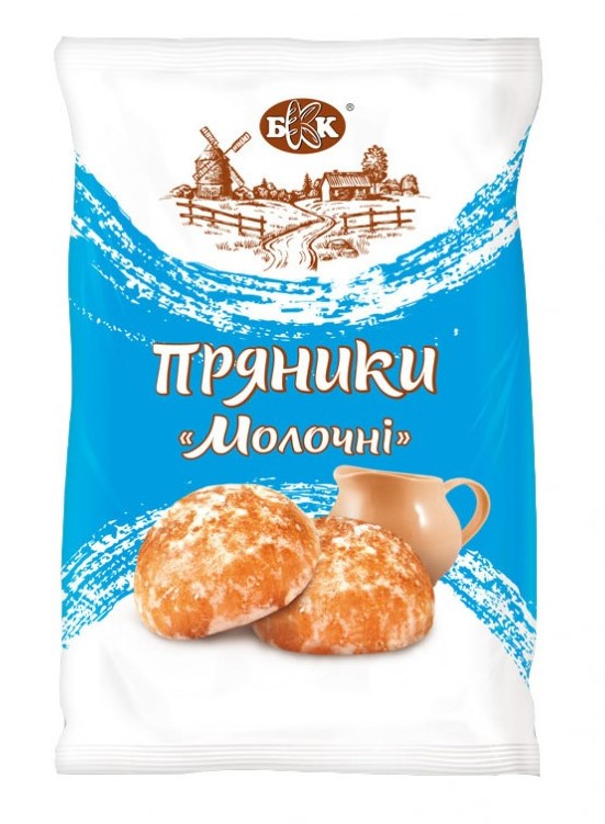Dairy gingerbreads in sugar glaze. Fasovanna - 380 g, the Period of storage of 4 months of GOST