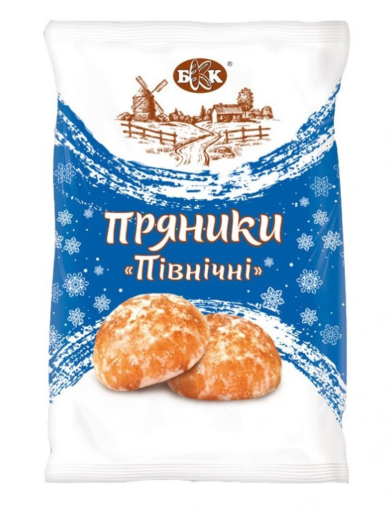 """Пряники """"Северные"""" в сахарной глазури,  380 г."""