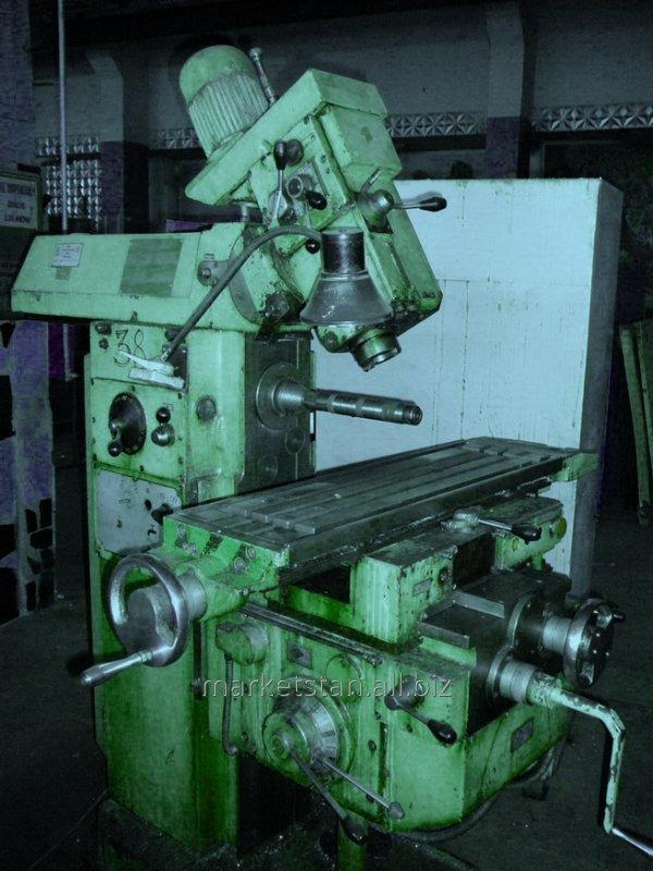 6Т80Ш The machine horizontally milling console universal with a rotary spindle
