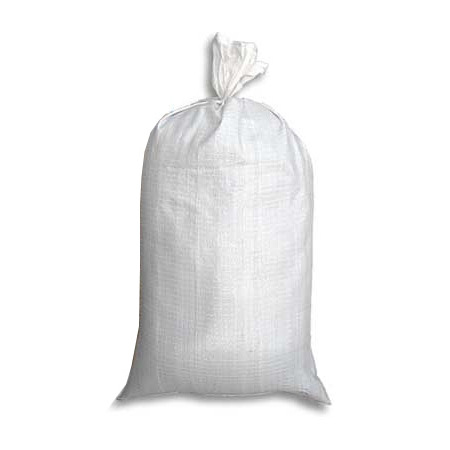 Buy Polypropylene bag 55 * 40 cm, white on 10 kg