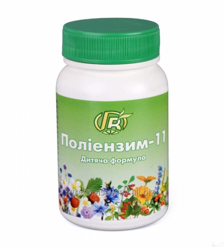Купить Полиэнзим 11 Детский - диетическая добавка от инфекций и аллергий с ферментами, травами, медом