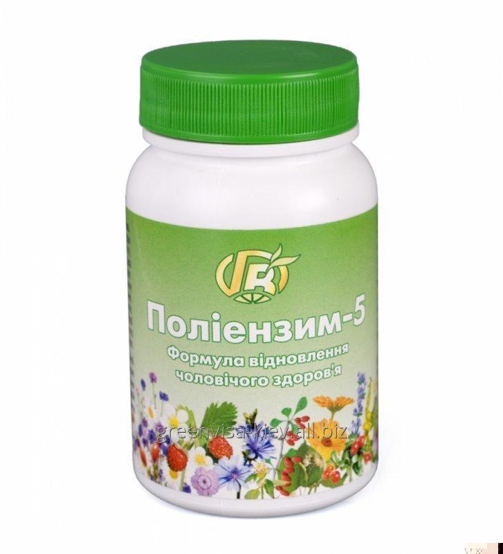Купить Полиэнзим 5 Мужское здоровье 140 г - диетическая добавка с ферментами, травами, медом