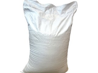 Мешок под Муку полипропиленовый белый пищевой 55 х 105см