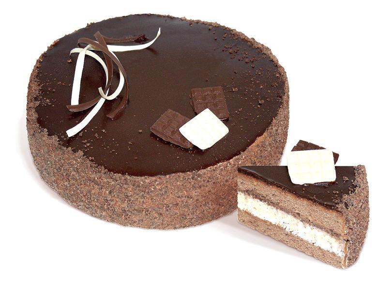 Торт «Шоколадный» ТМ «ЧАРІВНИЦЯ» бисквитный с добавлением какао, с кокосовой стружкой, которые покрыт шоколадным кремом. Весом: 1 кг.