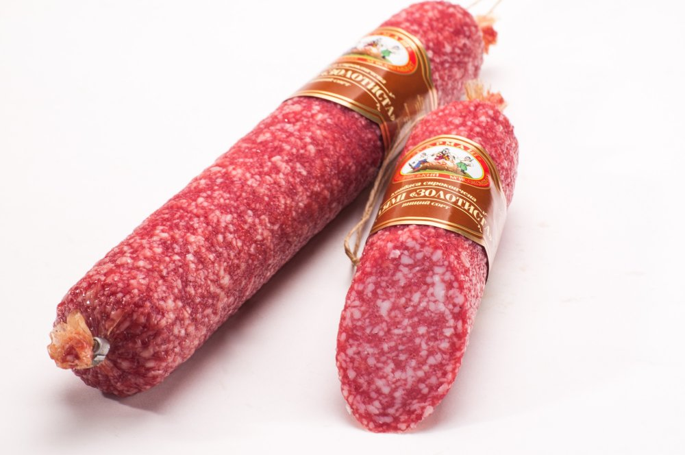 Salami Golden smoked premium