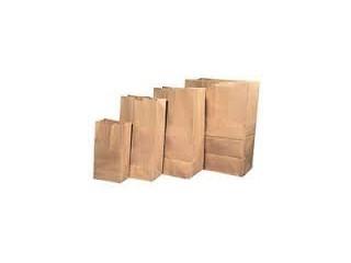 Купить Мешок бумажный-крафт бумага 70г/м2