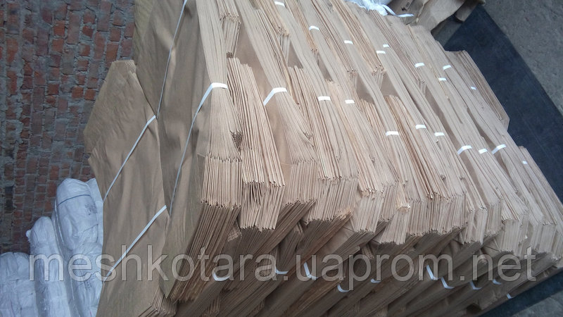 Мешок бумажный для кукурузы на 25 кг., 100х49,5х9см, 3-х слойный