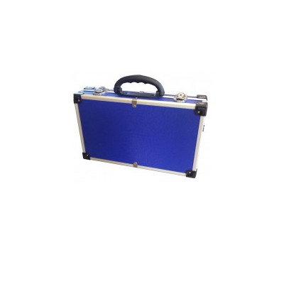 Купить Кейс для инструментов алюминиевый 395*240*90 мм (синий) Housetools 79K222