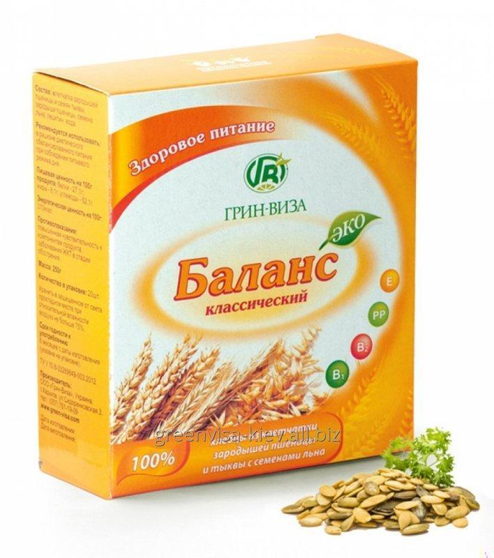 Купить Хлебцы Эко-баланс из клетчатки Классический 20 шт Грин-Виза