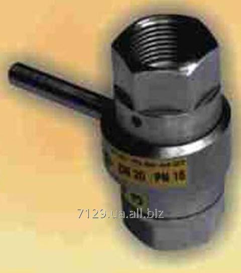 Кран дисковый нержавеющий с керамическим и металлокерамическим затвором DN 6-20 PN 16