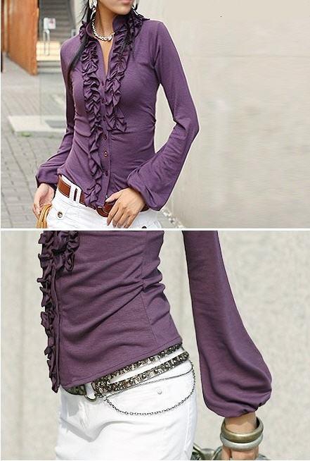Блуза фиолетовая 304696