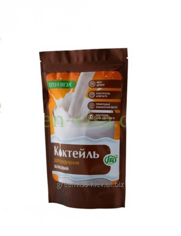 Buy Cocktail PROTEINACEOUS for improvement of quality of food of healthy people, prevention of deficiency of protein and correction of weigh