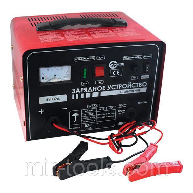 Автомобильное зарядное устройство для АКБ INTERTOOL AT-3015 Intertool