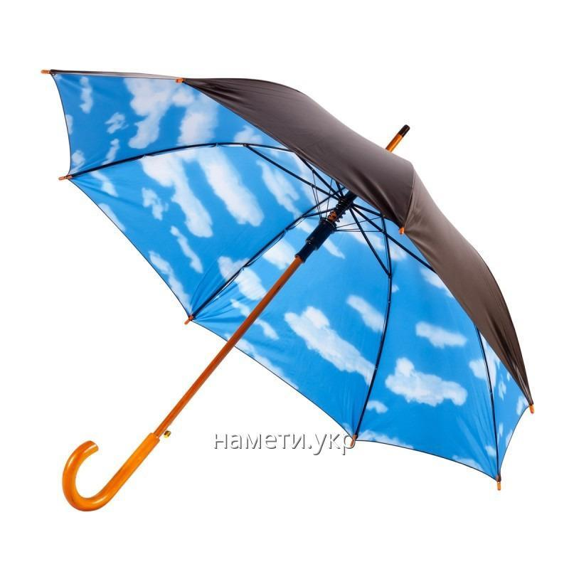 Зонт трость полуавтомат небо облака