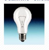 Лампа накал. Osram Е27 100W А мат (8740)