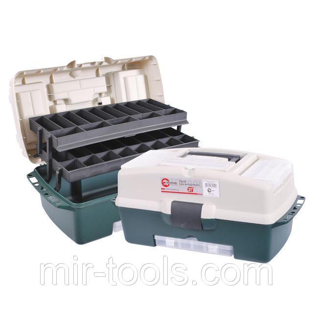Ящик для инструментов, 21 530x270x245 мм INTERTOOL BX-6121 Intertool