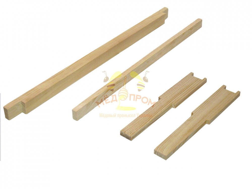 Рамка для ульев 435Х230 мм, с разделителем, верх 25Х20