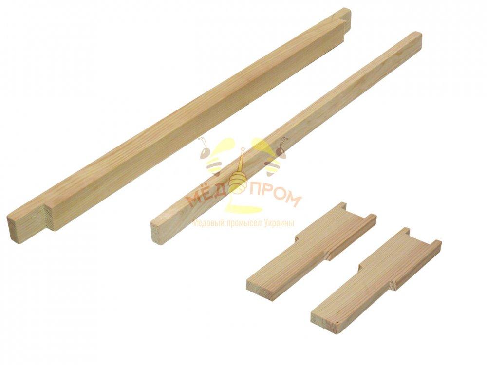Рамка для ульев 435Х145 мм, с разделителем, верх 25Х20