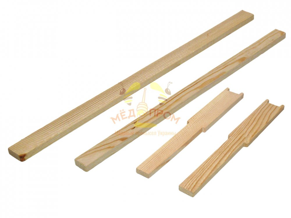 Рамка для ульев 435Х300 мм, с разделителем, верх 25Х10
