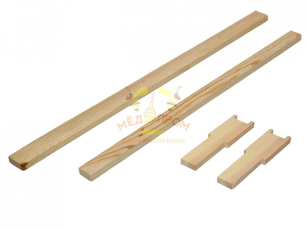 Рамка для ульев 435Х145 мм, с разделителем, верх 25Х10