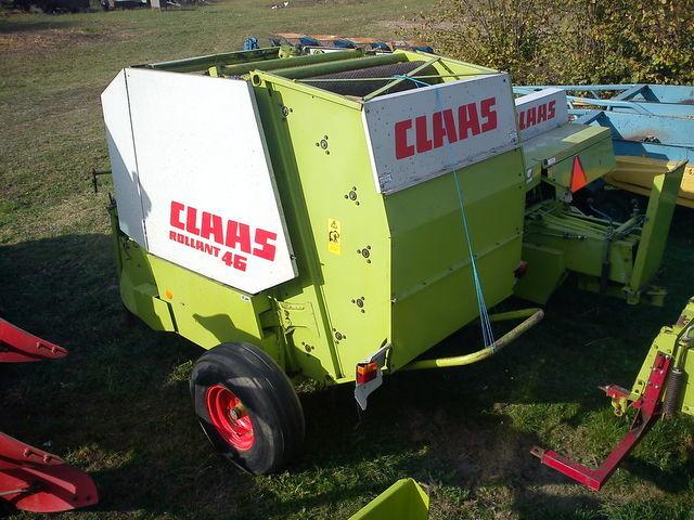 Купить Пресс-подборщик рулонный CLAAS rollant 46