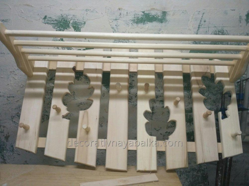 Декоративная балка из липы 100*70 мм