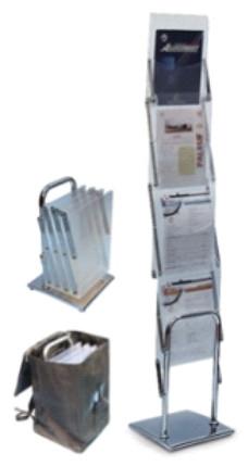 Купить Мобильные стойки для буклетов Dix-Box 4х1