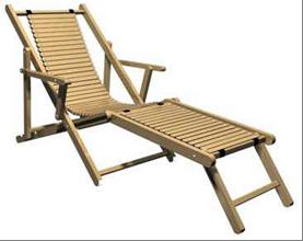 Лежак для отдыха на природе