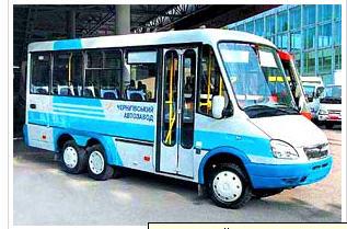 Автобусы школьные, БАЗ-2215 «Дельфин», Черниговский автозавод, Украина