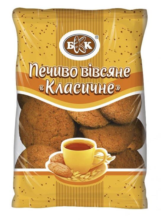 Печенье овсяное классическое с изюмом. Весовое - 4 кг., Срок хранения 6 мес. ГОСТ