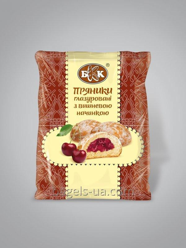Buy Spice-cake glazed with a cherry stuffing. Packed up - 190 g, the Period of storage of 4 months of GOST
