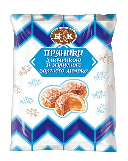 Пряники с начинкой со сгущенного вареного молока, 240 г