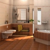 Buy Tile for bathing CERSANIT the Collection - CELESTA.