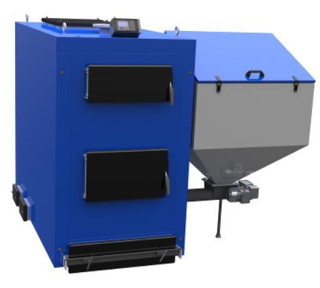 Котел твердотопливный Elektromet EKO KWP150L арт.40215102LB