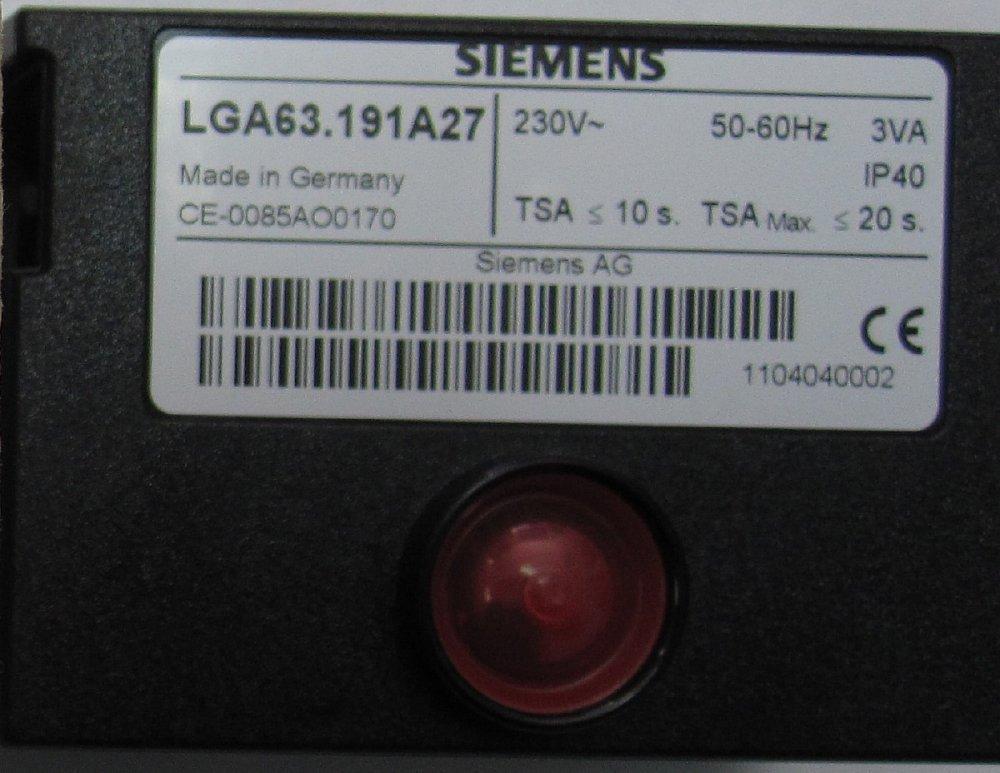 Блок розжига LGA 63191 A27 ( вместо 0005176624) арт.8718573621