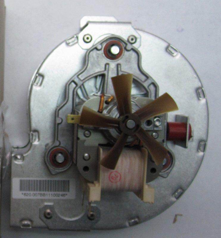 Вентилятор 220В U002 U052 (замена 0019928552) арт.87161432010